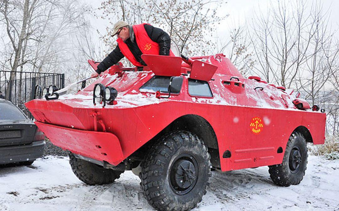 Ooit eens met een pantservoertuig mee willen rijden?